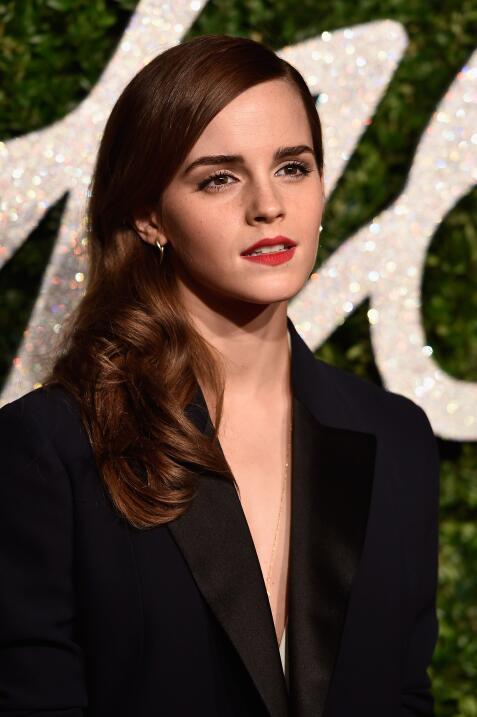 Así luce Emma Watson ahora.