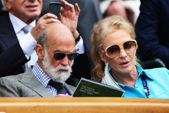 El Príncipe y la Princesa Michael de Kent  Mira aquí los videos más chis...