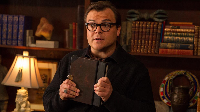Jack Black interpreta al autor de novelas de terror R.L. Stine en la pel...