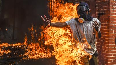 In photos:  Violence and repression in Venezuela reaches shocking new levels after month-long protests