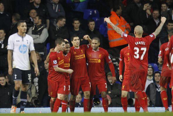 El aplastante 5-0 valió para que el Liverpool recuperara el segundo pues...