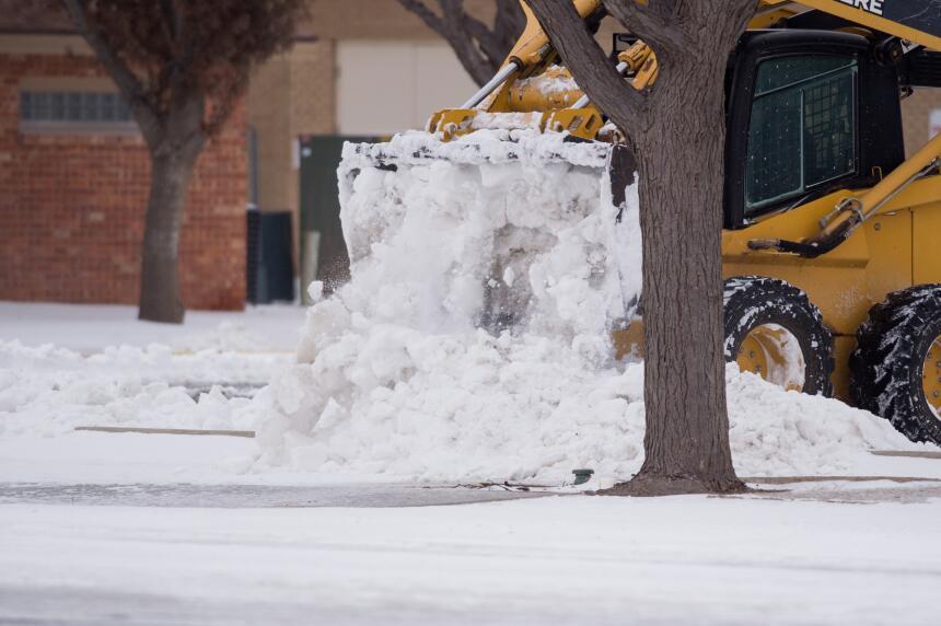 Desastres en varios estados por tormentas, lluvias y nieve nevada-texas3...