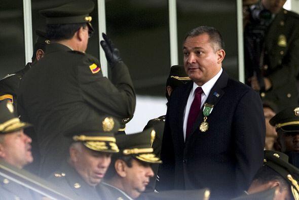El titular de la Secretaría de Seguridad Pública (SSP), Genaro García Lu...