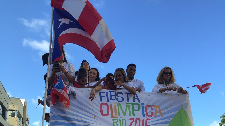 Puerto Rico se vistió de oro y le dio un recibimiento por todo lo...