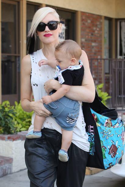 Pues Gwen así lo ha hecho con su otro pequeño, el querido Kingston.