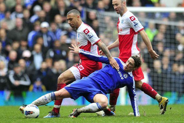 Sólo hubo un par de juegos en la jornada dominical de la Liga Premier in...