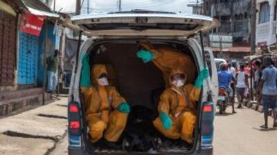 La respuesta mundial ante el ébola necesita ser 20 veces superior de lo...