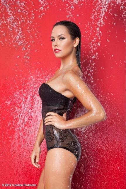 La presentadora española es una de las mujeres más bellas de España, y h...