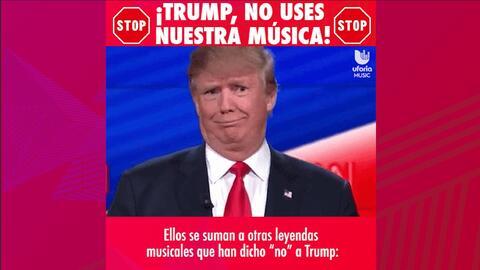 Estos músicos están hartos de que Trump use su música