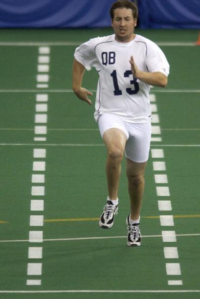 2005 - Kyle Orton, pasador de Purdue  (AP-NFL).