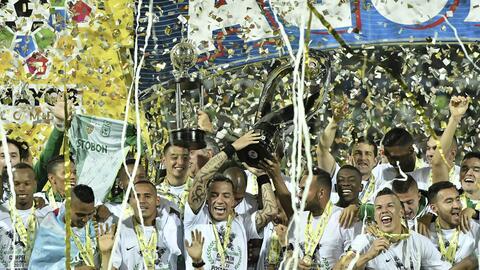 Atlético Nacional, campeón del fútbol colombiano