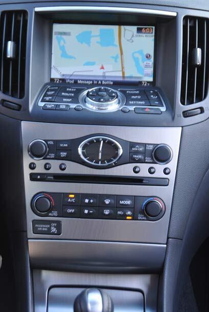 El Infiniti G 37S 2010 tiene un avanzado sistema de audio, navegación y...