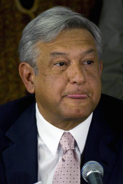 López Obrador anunció el domingo que solicitaba licencia al izquierdista...