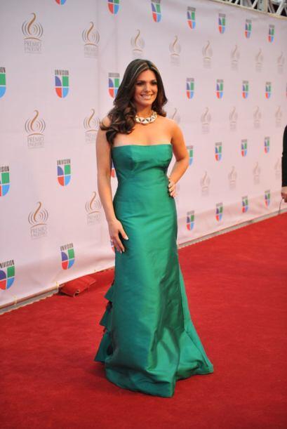 La reina en color esmeralda