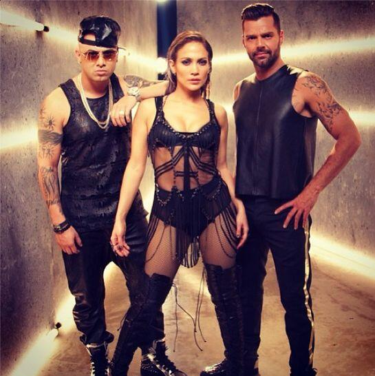 "#13 Wisin Ft. Ricky Martin y Jennifer López- ""Adrenalina""."