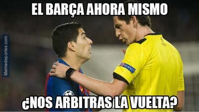 ¿Aytekin al rescate? La goleada de la Juventus al Barça bajo las burlas de los memes