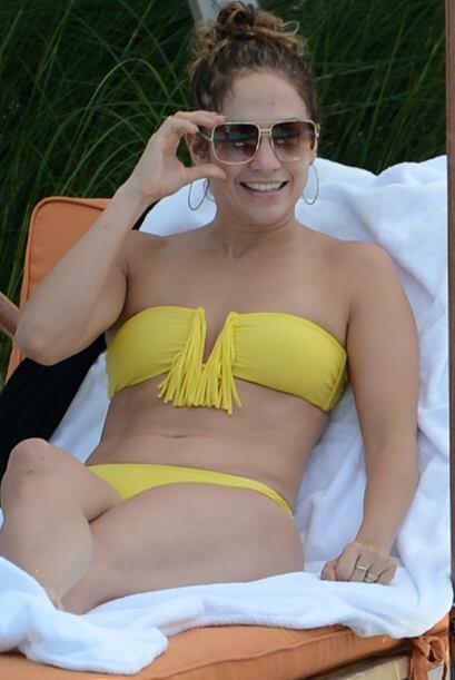 Por último, pero no menos madurita ni 'hot', tenemos a Jennifer Lopez. E...