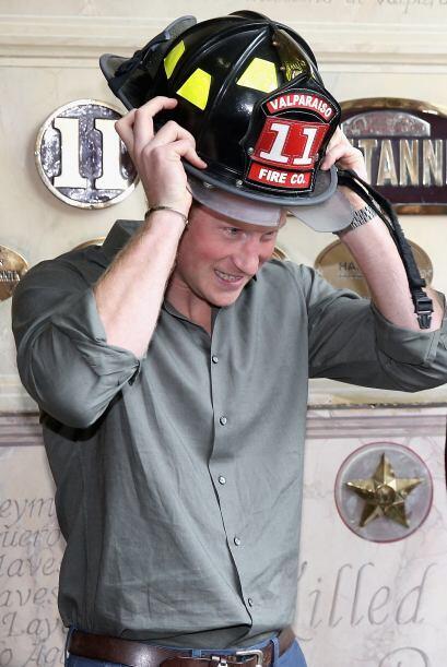 También estuvo con el departamento de bomberos de Valparaí...