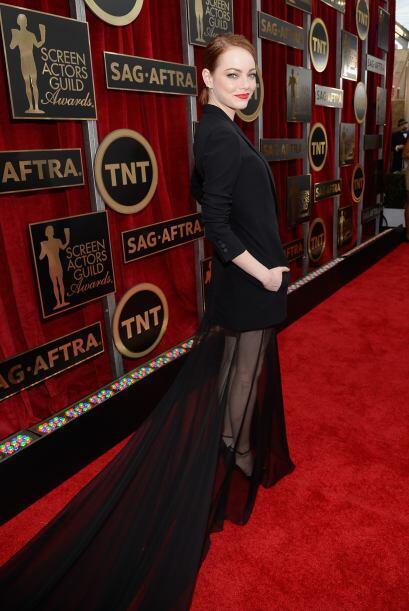Emma Stone dejó boquiabiertos a todos con esta inusual elección.