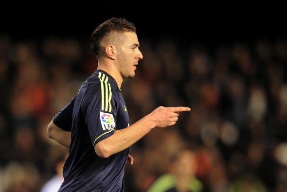 Benzema volvió a marcarle al Valencia en la Copa luego de su dian...