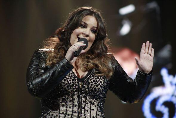 "Yazaira cantó ""Tres veces te engañé"" de Paquita la del Barrio, la juez i..."