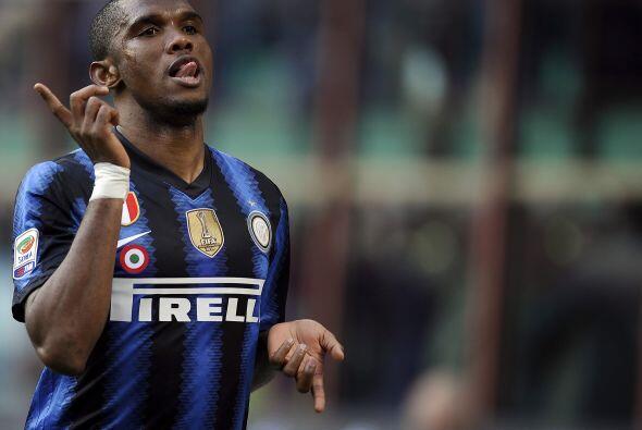 El atacante camerunés puso en ventaja a su club.