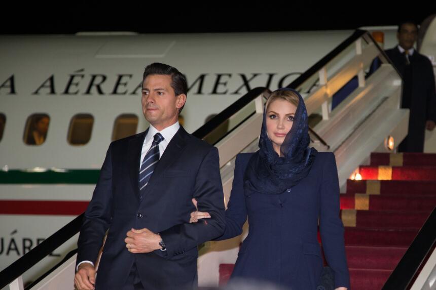 El estilo conservador de la primera dama de México.
