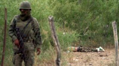 Los gatilleros pretendían emboscar a los militares cuando realizaban un...