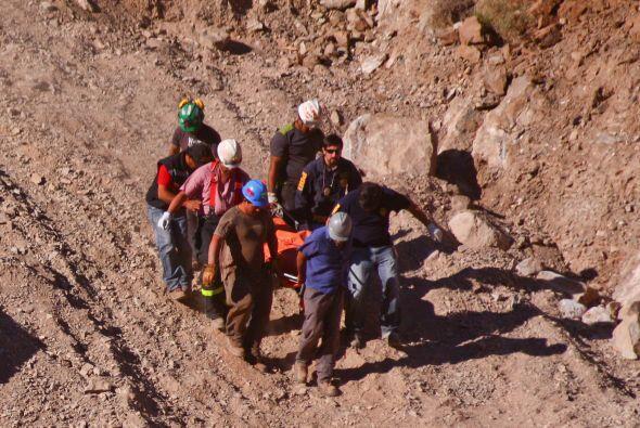 Un nuevo acciente en un yacimiento al norte de Chile dejó dos tra...
