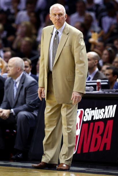 Gregg Popovich, coach de los Spurs, inquieto para enfrentar al actual ca...