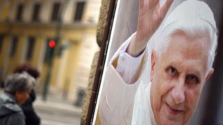 Fotografía del Papa Emérito Benedicto XVI.