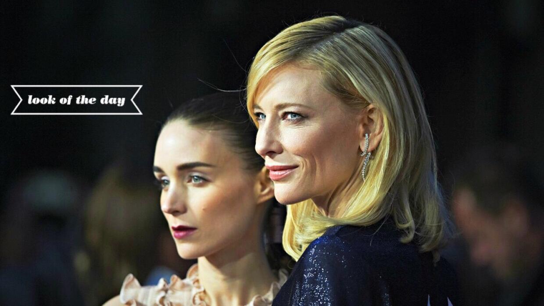 Rooney Mara y Cate Blanchett las protagonistas de la cinta Carol.