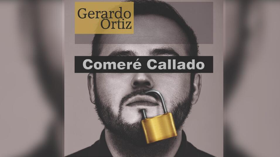 Portada del disco 'Comeré Callado' de Gerardo Ortiz