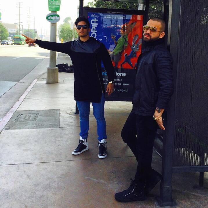 Las fotos de Chyno y Nacho que nos hicieron creer que sí eran los...