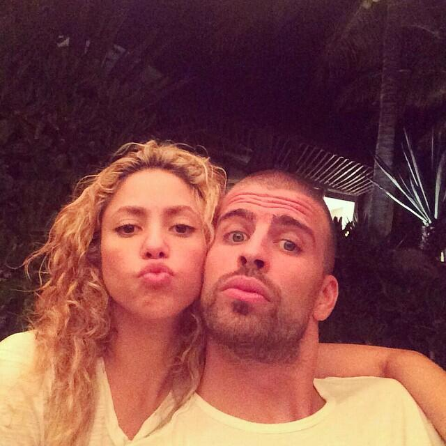 Shakira y Gerard