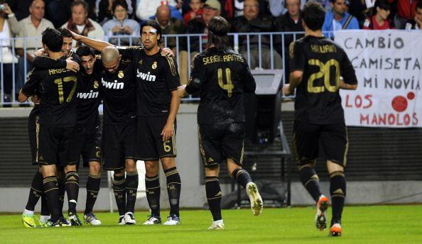 Real Madrid sigue prendido en la pelea por el título y los muchachos de...
