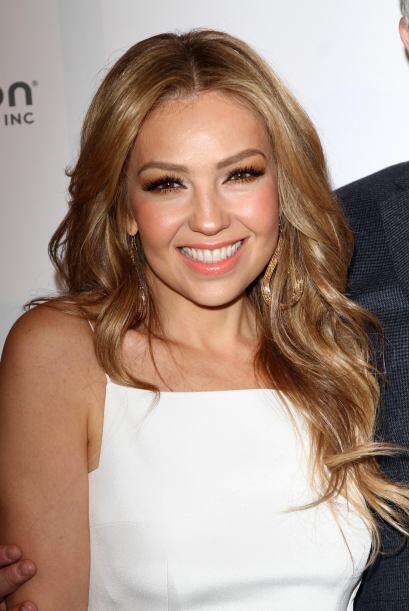 Thalía brilló con su carisma en el evento.