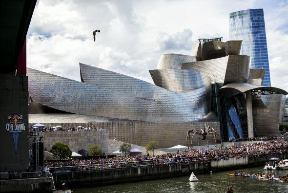 Gracias al imponente Museo Guggenheim y al talento de los atletas las im...