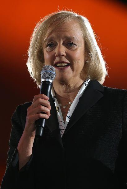 8. Meg Whitman.  El puesto número ocho es para la CEO de Hewlett-...