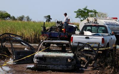 Revista del grupo Estado Islámico anuncia ejecución de dos rehenes Pemex...