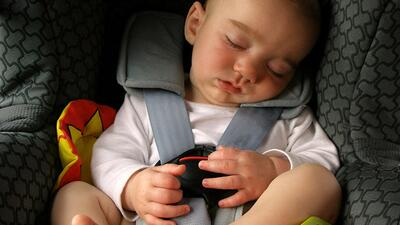 Try to plan car trips around your child's naps