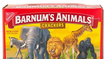 Animal crackers are now cage free