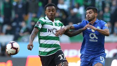 En fotos: Porto y Sporting Clube brindan intenso y emotivo partido y dividen los puntos