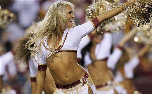 Los momentos más pícaros de las cheerleaders de la NFL en...
