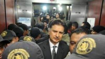 El ex presidente Alfonso Portillo quedó sorprendido por la noticia de su...