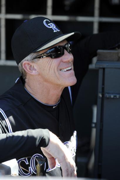 Jim Tracy llegó a Colorado en 2009 para ser Manager del Año en la LN, pe...