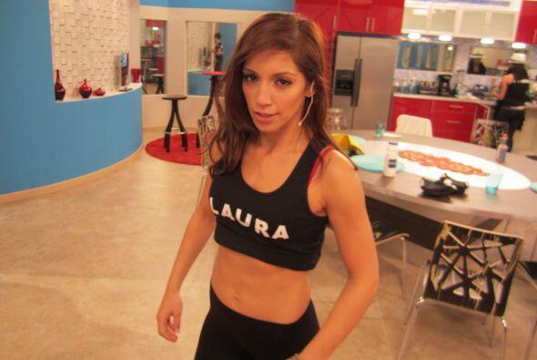 ¿Y esa cara Laurita?