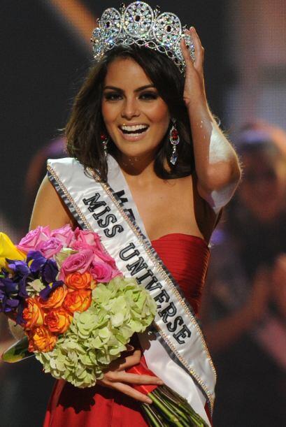 "Ximena se coronó como ""Miss Universo 2010"", siendo así la segunda mexica..."