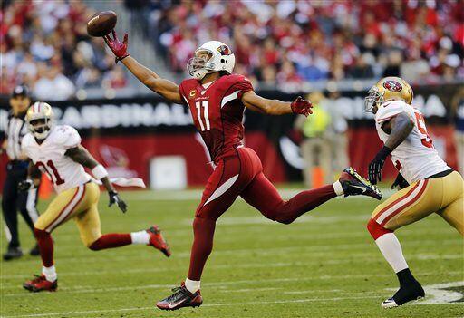 Larry Fitzgerald, receptor de los Arizona Cardinals (AP-NFL)