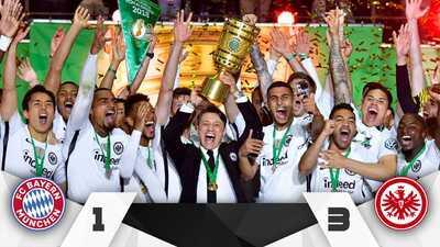Salcedo y Fabián derrotan al Bayern Múnich y conquistan la Copa Alemana